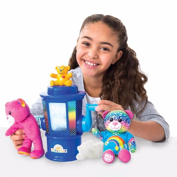 Build-A-Bear Workshop Stuffing Station Set-rainbow edition