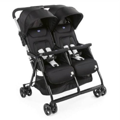 Chicco Oohlala Twin-Black Night Stroller