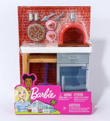 Barbie Outdoor Furniture and Accessories Playsets Asst