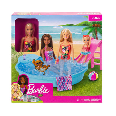 Barbie™ Barbie Pool W/Doll - (Blonde hair)