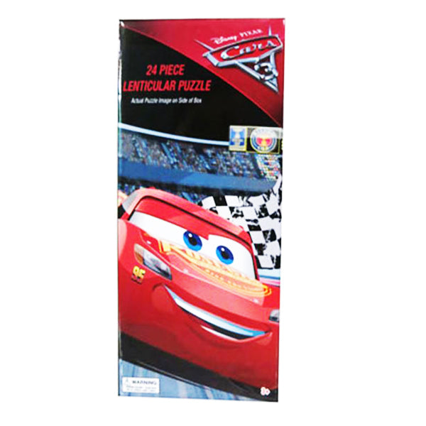 Cars 3 Lenticular Tower Puzzle