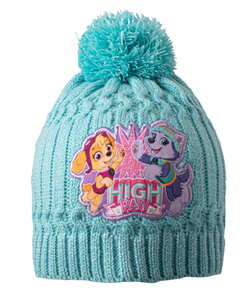 Paw Patrol Cable Knit Beanie Girls