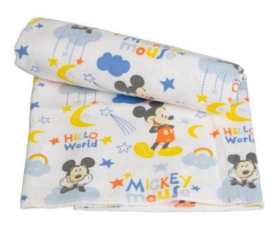 Mickey Mouse Baby Receiving Blanket