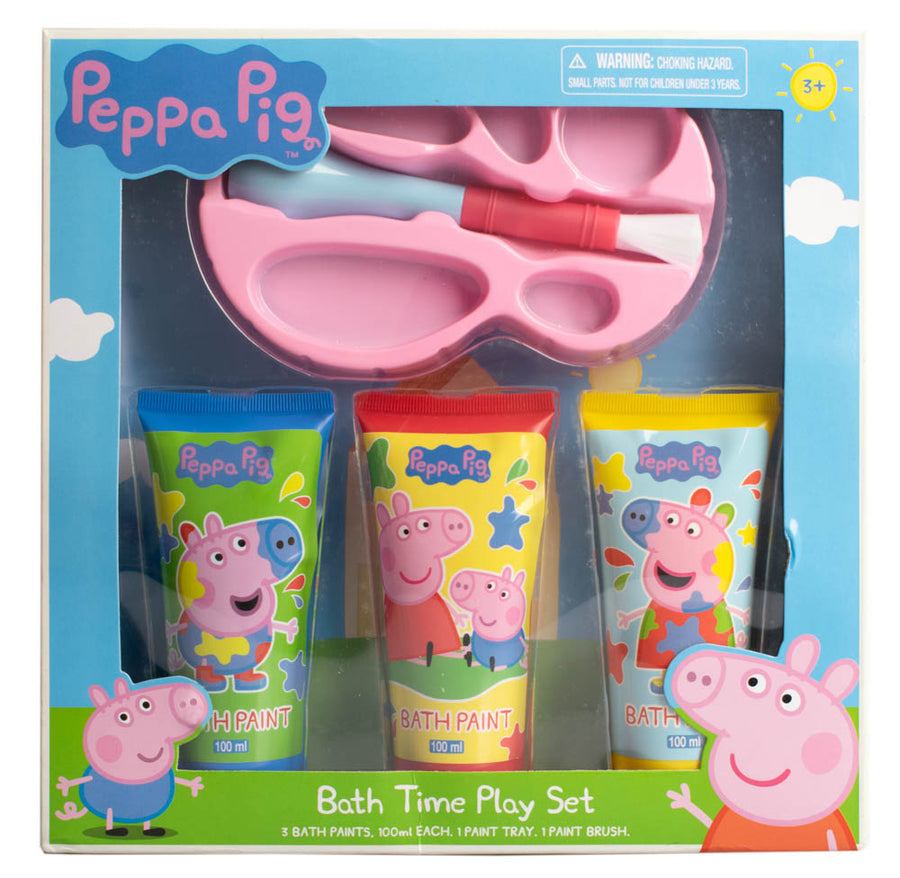 Peppa Pig Bath Time Activity Gift set