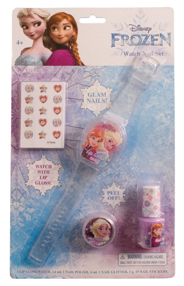 Frozen Watch Nail Set