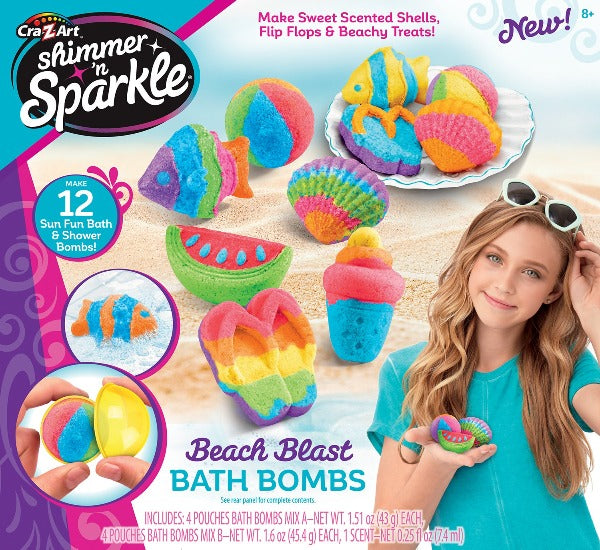 Shimmer and Shine Beach Blast Bath Bombs