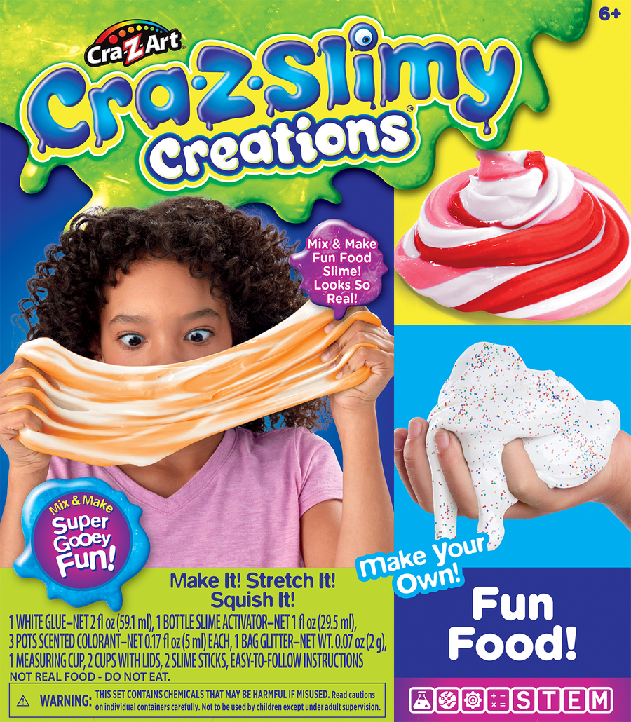 Crazslimy Fun Food Slime Medium Box
