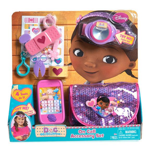 Disney The Doc Is In 4 Piece Doc Mcstuffins Toddler: Doc Mcstuffins On Call Accessory Set