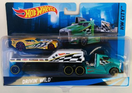 Hot Wheels City Super Rigs