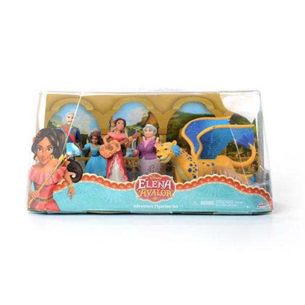 Disney Elena Avalor Adventure Figurine Set