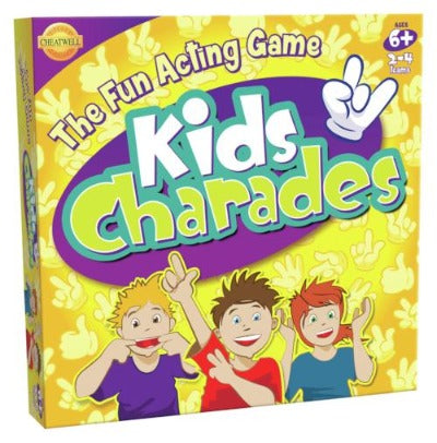 Kids Charade The Fun Acting Game
