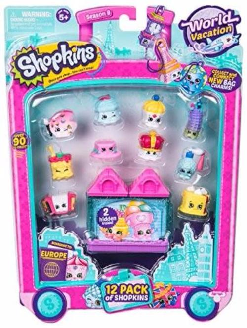 Shopkins Season 8 World Vacation-12 Pack