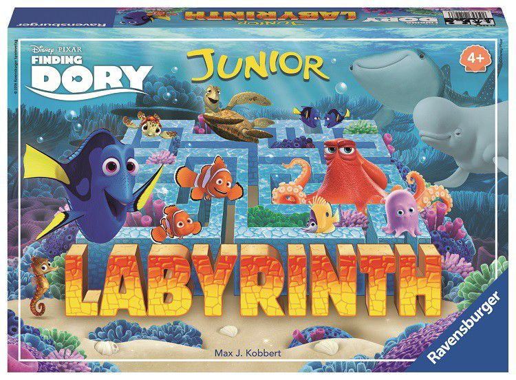 Ravensburger Junior Labyrinth Game-Finding Dory