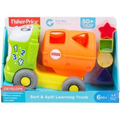 Fisher Price Sort & Spill Learning Truck