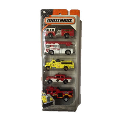 Matchbox 5 Pack Diecast Cars