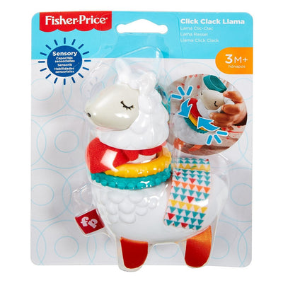 Fisher-Price® Click Clack Llama, Baby Take-Along Activity Toy