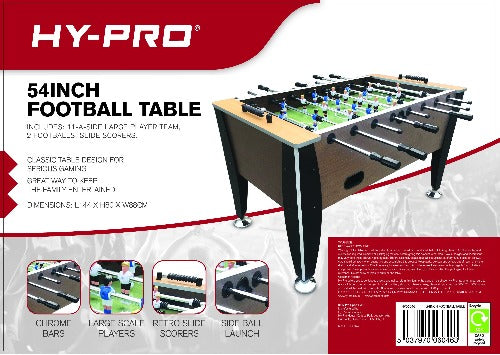Hypro Sports 54 inch Football Table
