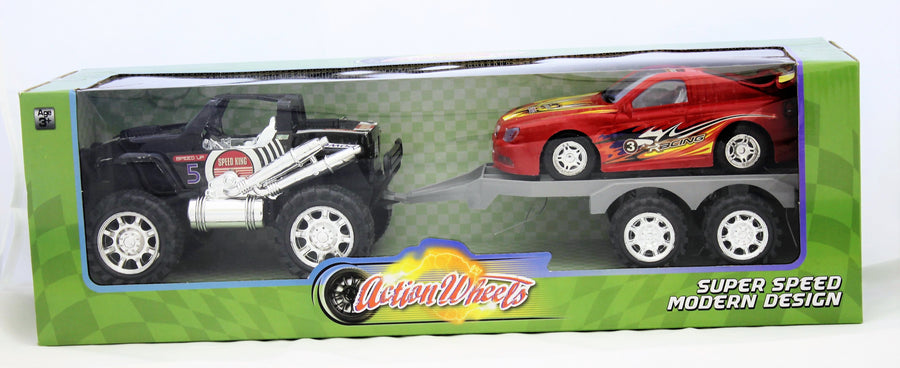 Action Wheels Super Speed 2 Vehicle Playset
