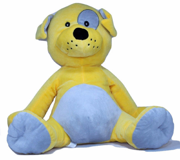 Yellow Plush Dog