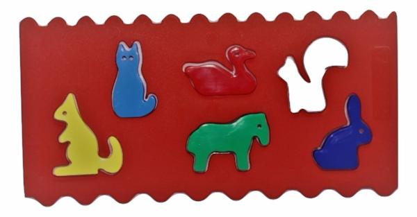 Msk-Educo Animal Stencil Shapes