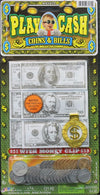 Jaru Play Money, Coins & Bills With Money Clip