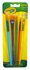 Crayola 5 Assorted Paintbrushes