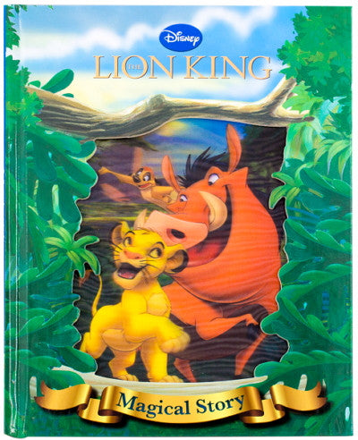 Disney Magical Lenticular Book
