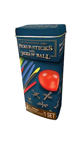 Traditions-Pick Up Sticks and Jacks'n Ball
