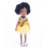 Kaelo African Queen Mahle In Yellow Dress