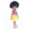 Kaelo African Queen Mahle In Pink/Yelow Dress