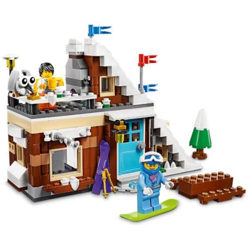 Lego Creator Modular Winter Vacation 3in1 31080