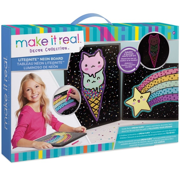 Make It Real Decor Collection Lite@Nite Neon Board