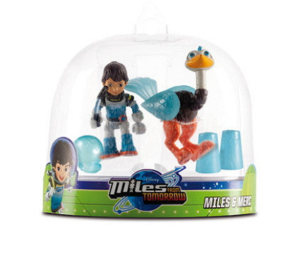 Disney Miles From Tomorrowland Double Action Figure