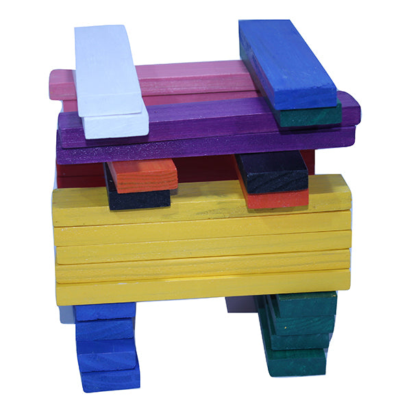 MSK PLANX Stacking Planks 5/6yrs