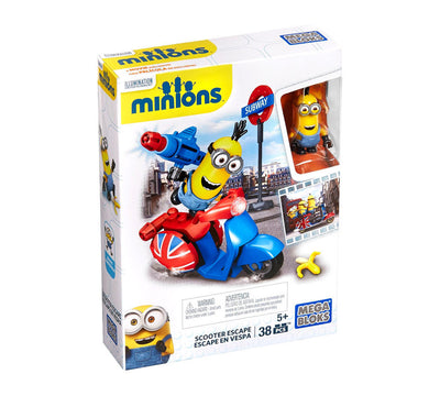Mega Bloks Minions Scooter Escape Pack