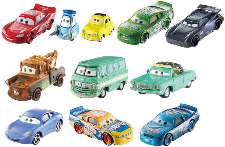 Disney Pixar Die 3 Cast Character Vehicles Assorted