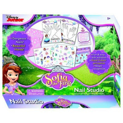 Disney Sofia The First: My Nail Studio Game