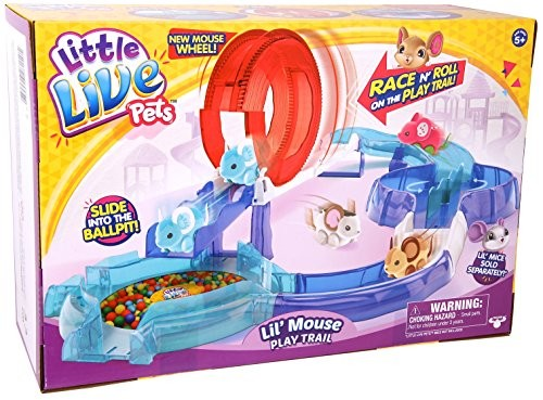 Little Live Pets Lil Mouse Play Trail