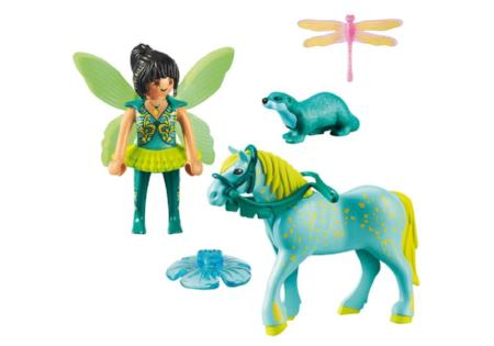 Playmobil Fairies Enchanted Fairy with Horse 9137