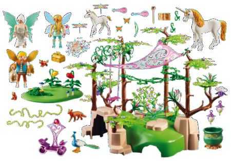 Playmobil Fairies Magical Fairy Forest 9132