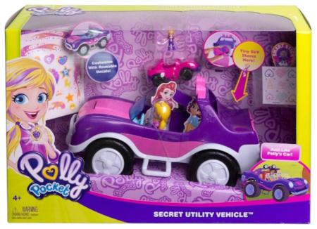 Polly Pocket Secret Utility Vehicle Playset
