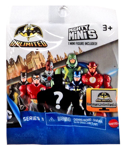 Batman Unlimited Mini Figure In Mystery Packet