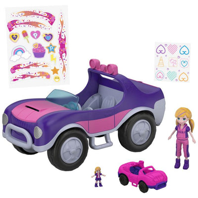 Polly Pocket™ Adventure Buggy - Dual scale