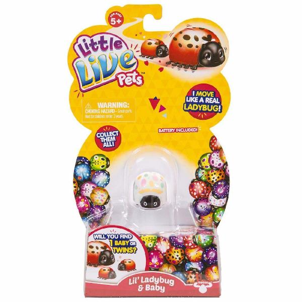 Little Live Pets Ladybug Single Pack