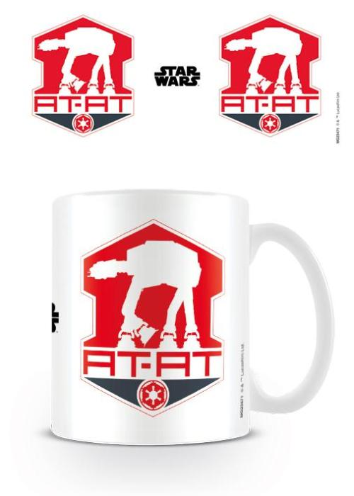 Marvel Star Wars At At Logo Mug