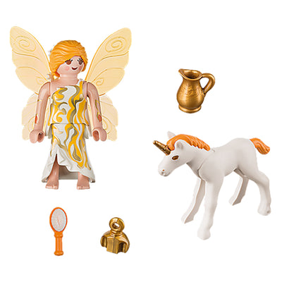 Playmobil Special Plus Sun Fairy With Unicorn Foal 9438