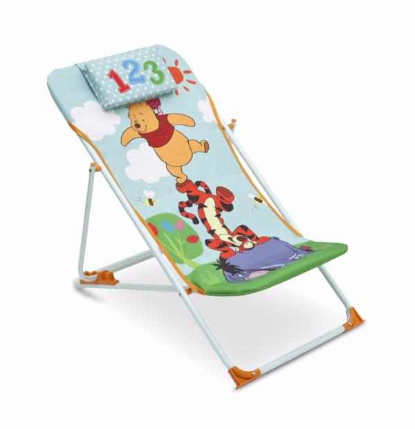 Winnie the Pooh Adjustable Beach Chair
