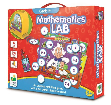 The Learning Journey Grab It Mathematics Lab