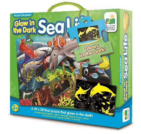 The Learning Journey Puzzle Doubles Glow In The Dark-Sea