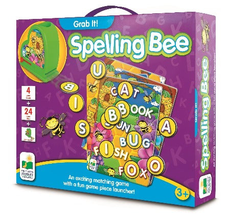 The Learning Journey Grab It Spelling Bee